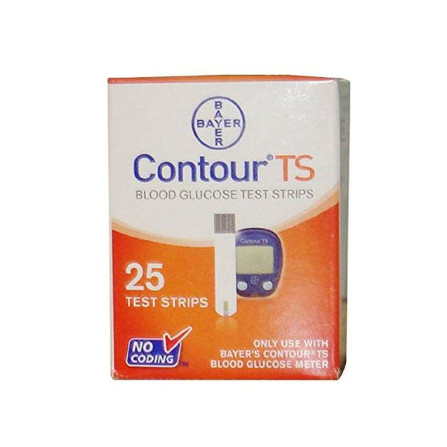 Bayer Contour Test Strips 25s