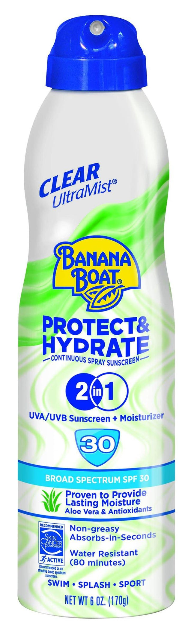 Banana Boat Protect Hydrate Spray SPF50 170g