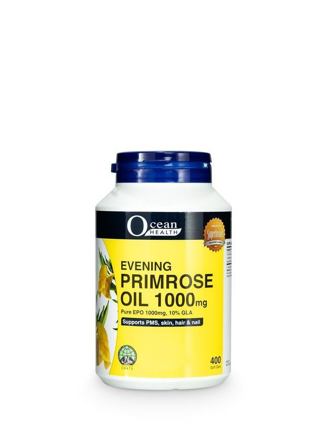 Ocean Health Evening Primrose Oil 1000mg 400s