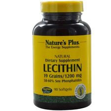 Natures Plus Lecithin 1200 mg 90 Softgels