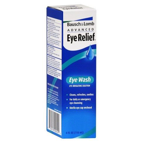 Bausch  Lomb Advanced Eye Relief Eye Wash With Eye Cup