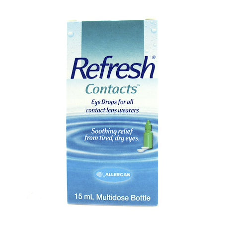 Refresh Contacts Eye Drop 0.5 Oz 15ml