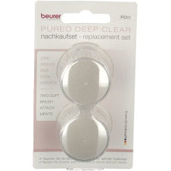 Beurer FC 65 Pureo Deep Clear facial brush Replacement set
