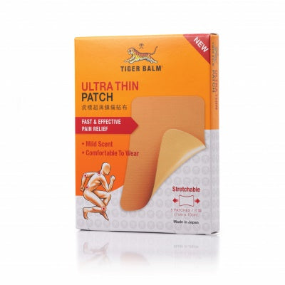 TIGER BALM ULTRA THIN PATCH 5s