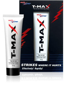T-MAX Pain Itch Relieving Cream 30g