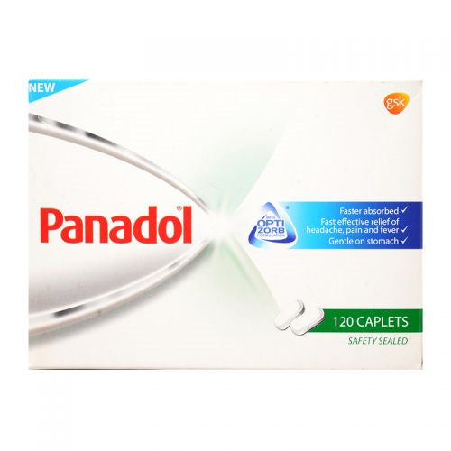 Authentic Panadol from SG distributor - Panadol Optizorb Tablets 120s in a box.