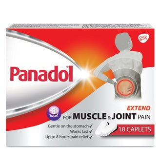 Bundle of 10 X Panadol Extend 665 mg Caplets 18s