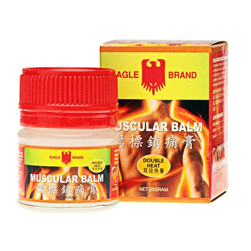 Made in Singapore Local Eagle Brand - Bundle of 12 X Eagle Muscular Balm 20g
