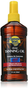 Bundle of 5 X Banana Boat Deep Tanning Oil SPF 4