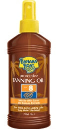 Bundle of 5 X Banana Boat Protective Tanning Oil SPF 8