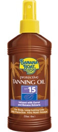 Bundle of 5 X Banana Boat Protective Tanning Oil SPF 15