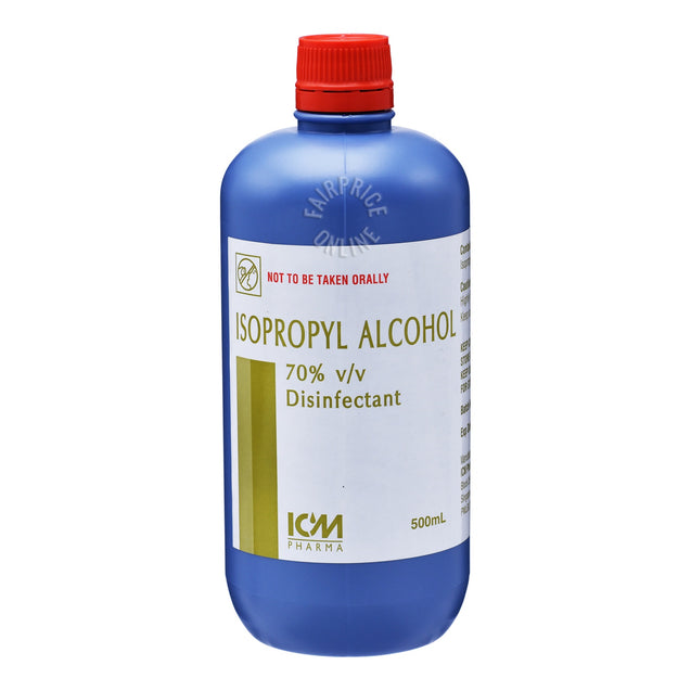ICM Pharma Isopropyl Alcohol 500ml