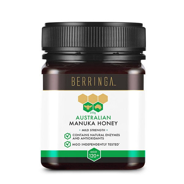 Berringa Manuka Honey MGO +120 250g