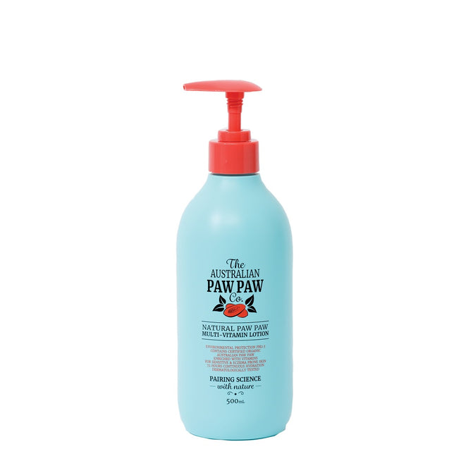 The Australian Paw Paw Co. Natural Paw Paw Multi-Vitamin Lotion 500ml