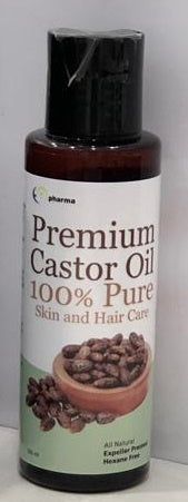 Premium CASTOR Oil 100ml- 100% Pure for Skin Eyelash Hair and many