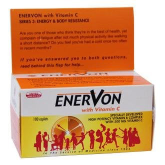 ENERVON WITH VITAMIN C TABLETS 100