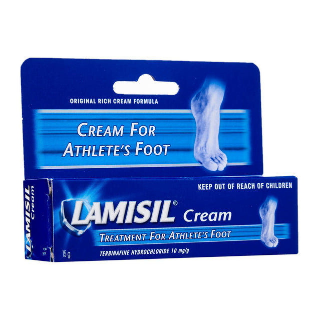 Lamisil Cream Treatment for Athletes Foot 15g