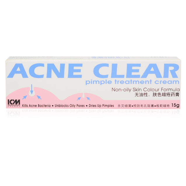 Acne Clear Pimple Treatment Cream 15g