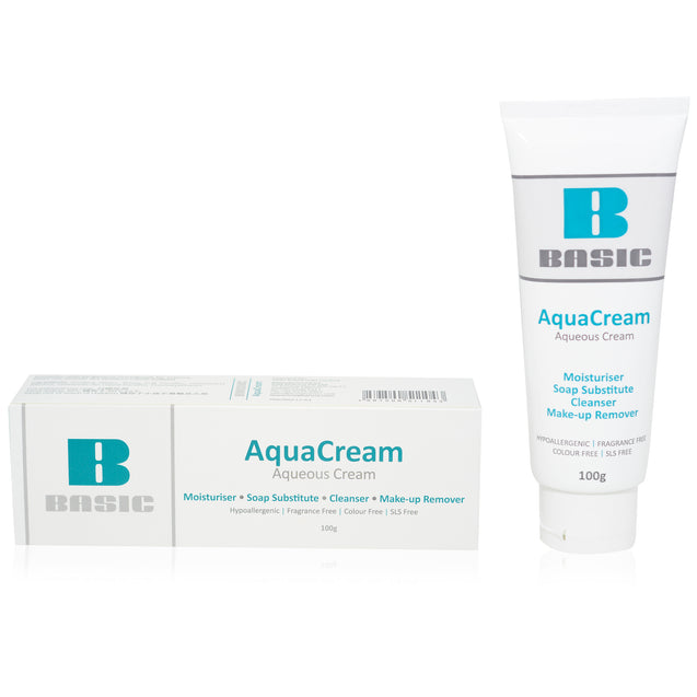 Twin Pack - 2 X ICM PHARMA AquaCream 100g. Aqueous Cream (SLS Free)