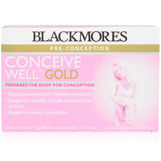 Blackmores Conceive Well Gold 28 + 28