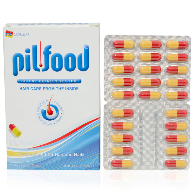 PILFood Capsules Blisters 60s - Swiss remedy for healthy hair