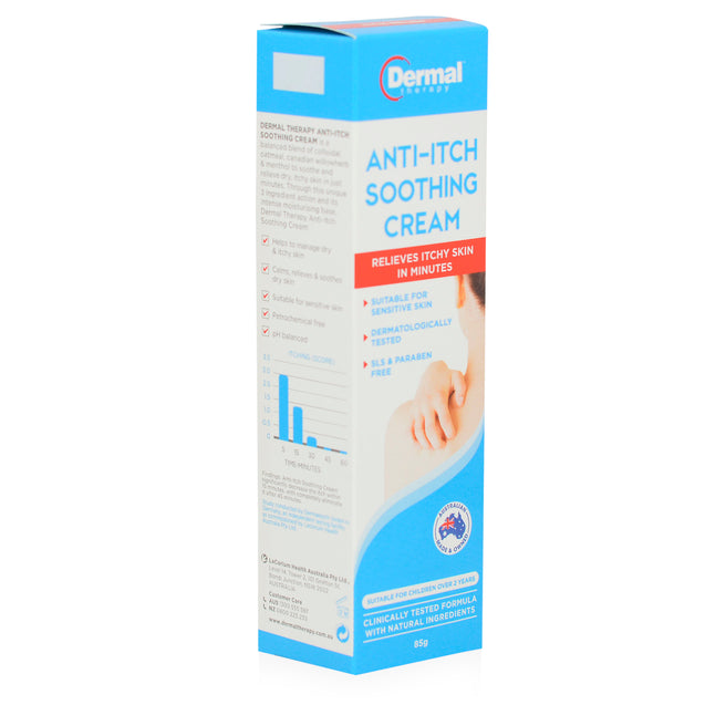 Dermal Anti Itch Soothing Cream 85g