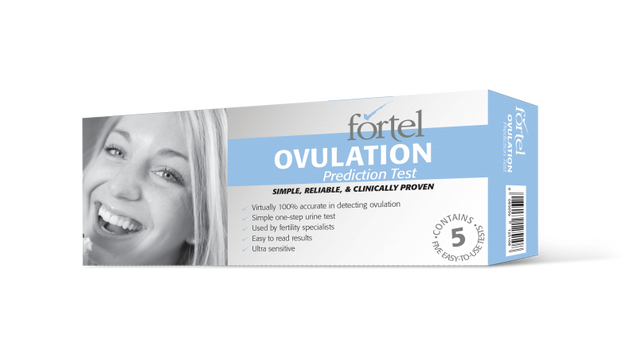 Fortel Ovulation Test Kits/ Pregnancy Test Kits - Early Detection for Pregnancy