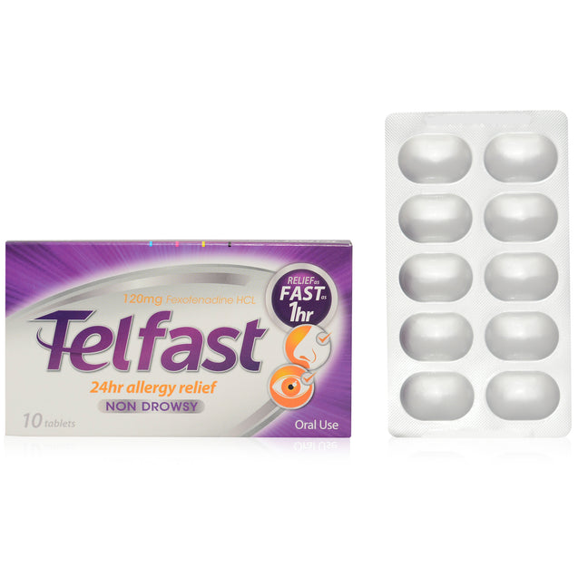 Telfast Tablet 120mg 10's