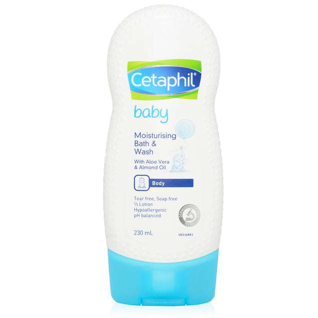 Cetaphil Baby Moisturising Bath & Wash 230ml