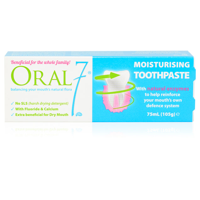 Oral7 Moisturising Toothpaste 2x 105g (75ml) - Twin Pack