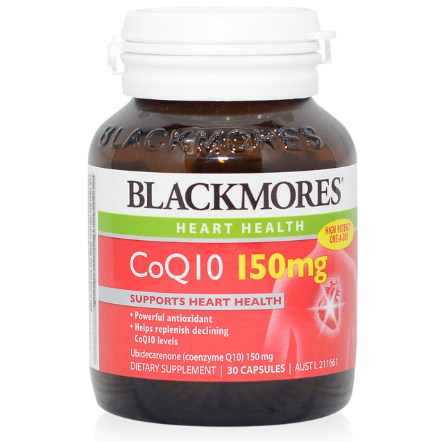 Blackmores CoQ10 150mg 30s