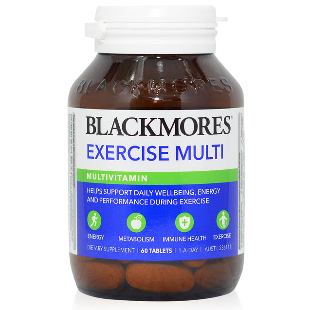 Blackmores Exercise Multi 60s