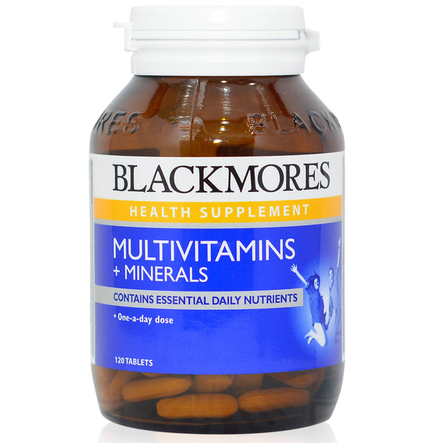 Blackmores Multivitamins and Minerals 120s