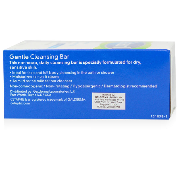 Cetaphil Gentle Cleansing Bar_back