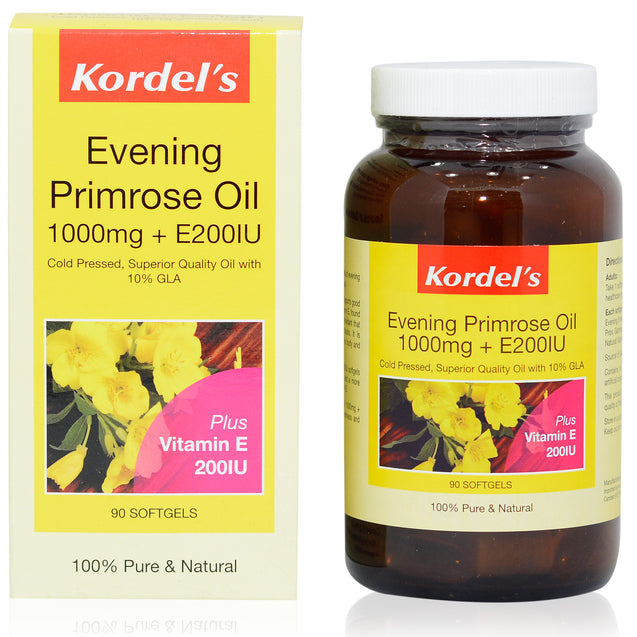 Kordel Evening Primrose Oil 90s