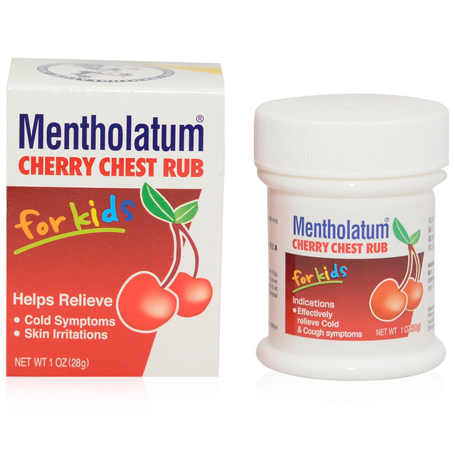 Mentholatum Cherry Chest Rub Kids 28g