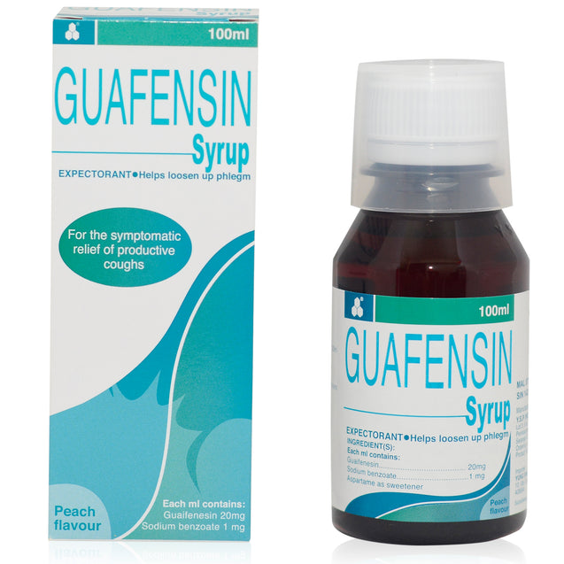 Guafensin Syrup 100ml