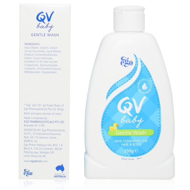 QV Baby Gentle Wash 250g_sideview 1