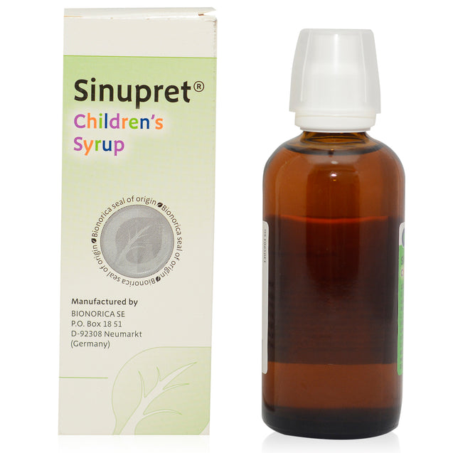 Sinupret Children Cough Syrup 100ml_ backview