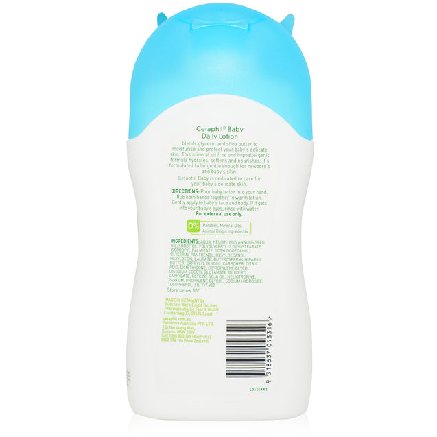 Cetaphil Baby Daily Lotion 400ml_backview