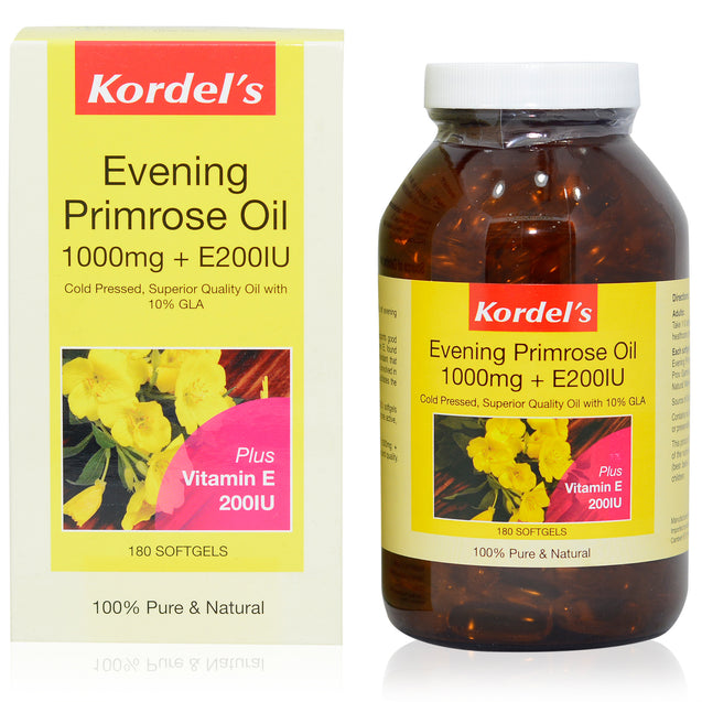 Kordel Evening Primrose Oil 180s