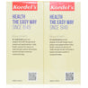 Kordel Fish Oil + Vitamin D 120s X 2 Twin Pack_back