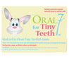 Oral7 Tiny Teeth 2x48ml (55g) Twin Pack - From 3 Months Old Apple Flavour