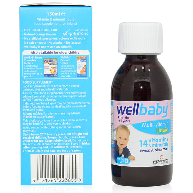 VB WellBaby Multivitamin Liquid 150ml_sideview 2