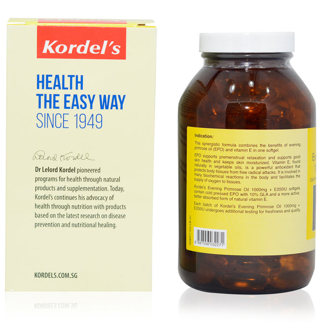 Kordel Evening Primrose Oil 90s_backview