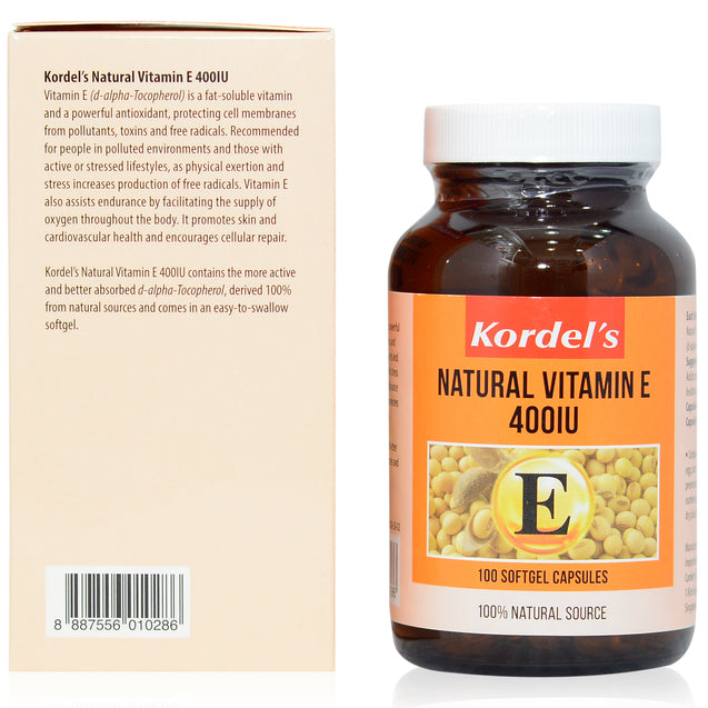 Kordel Vitamin E 100s_backview