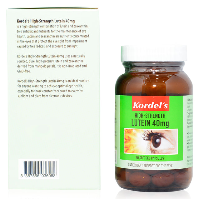 Kordel Lutein 40mg 90s_backview