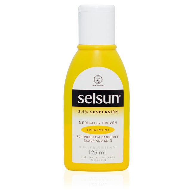 Selsun 2.5% suspension for dandruff