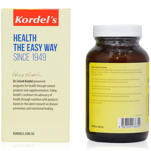 Kordel Heart Care Formula 60s_sideview