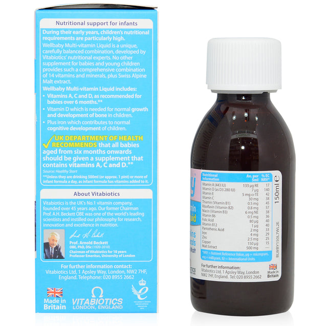 VB WellBaby Multivitamin Liquid 150ml_sideview 1
